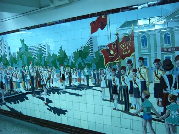 Мозаика подземных переходов