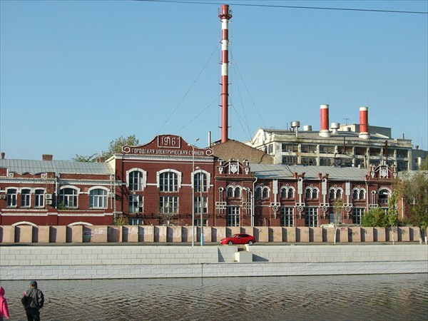 Протоки Волги в Астрахани