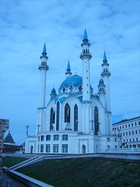 Минарет в Казанском кремле