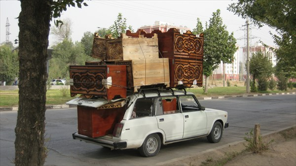 Большегруз в Душанбе