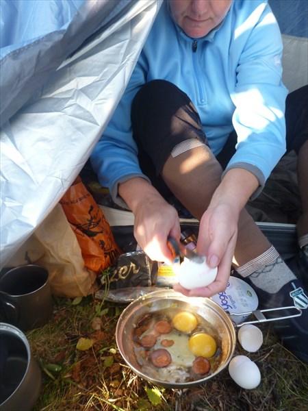 Традиционный завтрак.