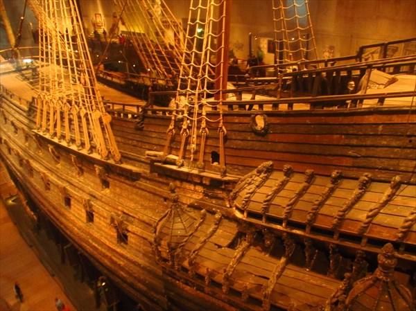 Музей Васса. Затонувший корабль.