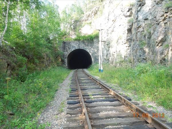 Один из тоннелей