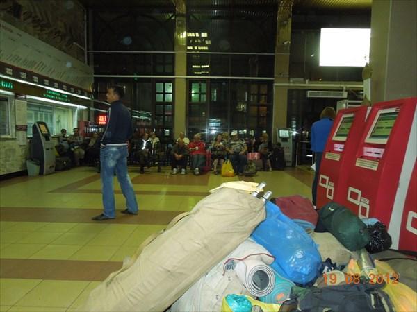 Иркутск. ЖД вокзал.