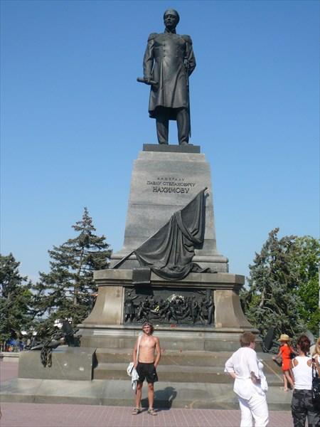 Памятник П. С. Нахимову (Севастополь) 1898