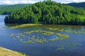 Гурьевское водохранилище.