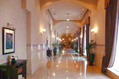 Один из коридоров отеля