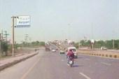 Дорога из отеля в аэропорт Исламабада