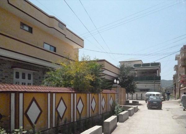 Переулок, ведущий к дому Усамы бен-Ладена