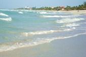 Ветер на пляже в  Барадеро