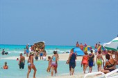 Август - на Барадеро рай