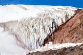 Язык ледника Азау