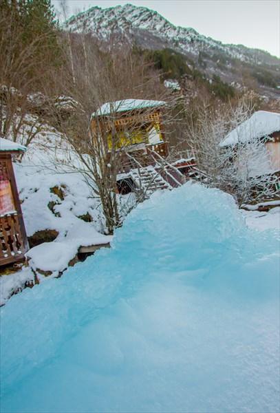 Ледяной Фонтанчик. Долина Нарзанов