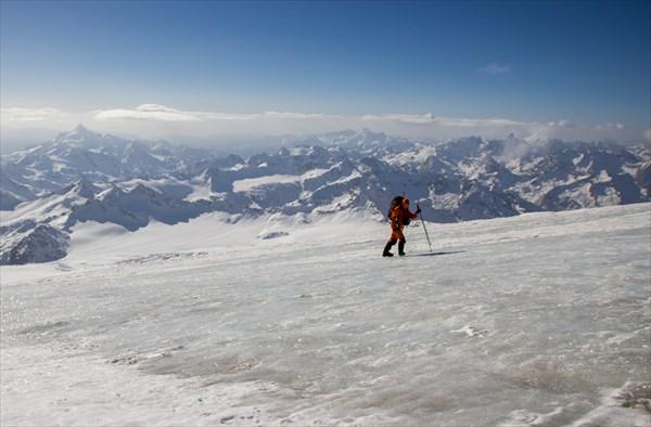 На лыжах сюда лучше не въезжать...