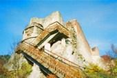 Замок Поенари (real Dracula castle)