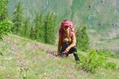 `Альпийские` луга на правом берегу Чуи