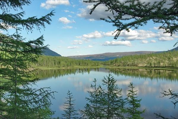 Озеро - исток Бургула