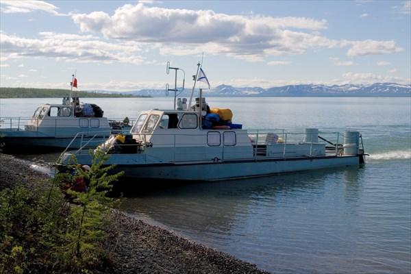 Катера КС - основное средство заброски на Норильские Озера