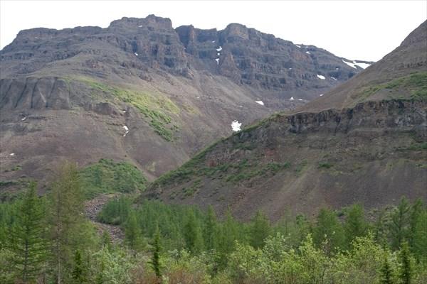 Склон долины