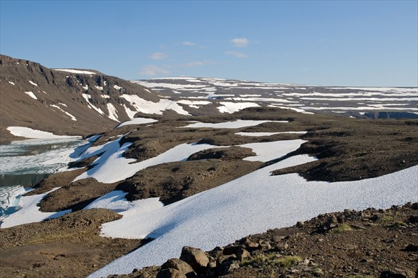 Царство камня и снега
