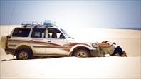Застряли в дюнах