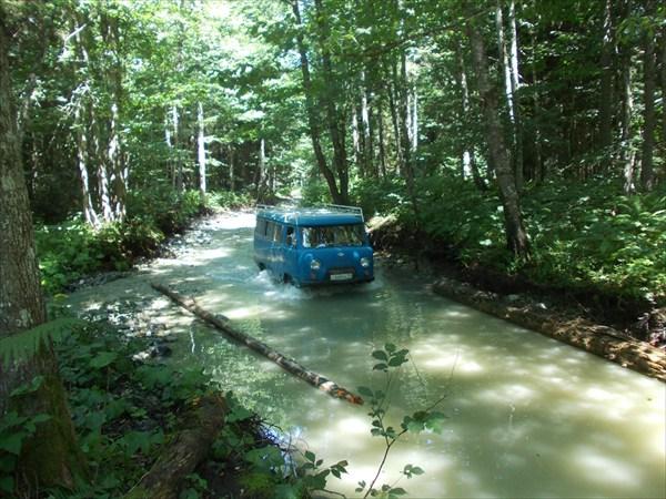 Дорога на Кислые воды