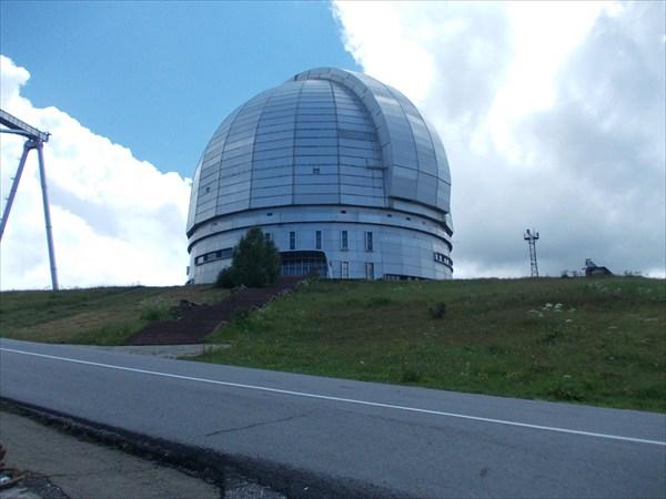 Крупнейшая в России астрофизическая обсерватория