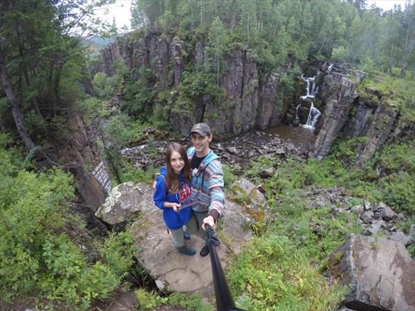 Водопад Ук