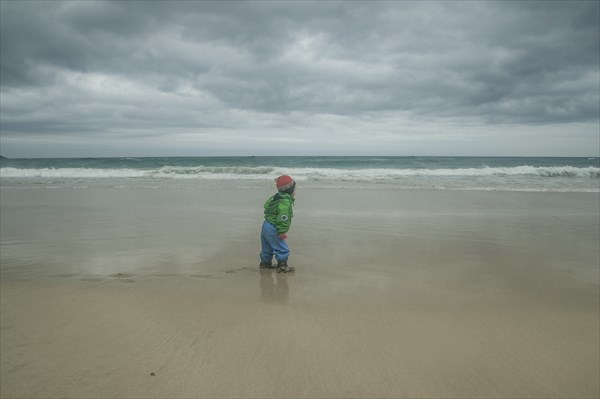 Ребенок и океан. Северный Ледовитый