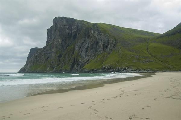 Пляж Kvalvika