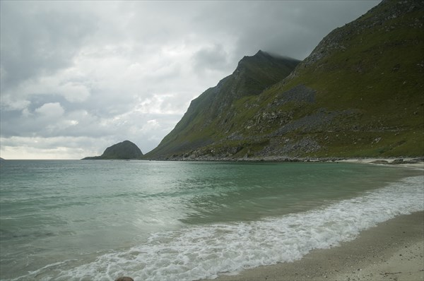 Пляж Haukland
