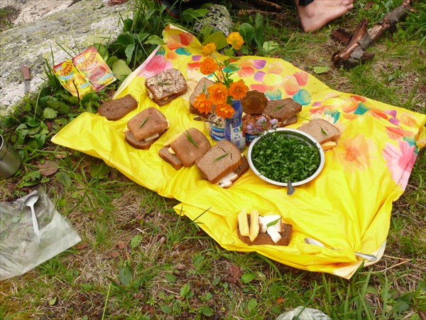 Праздничный стол - обед