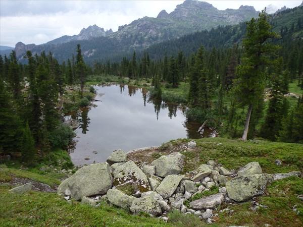 Озеро Лазурное