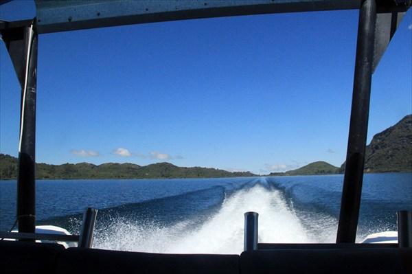 С ветерком по самому глубокому озеру Северного острова НЗ