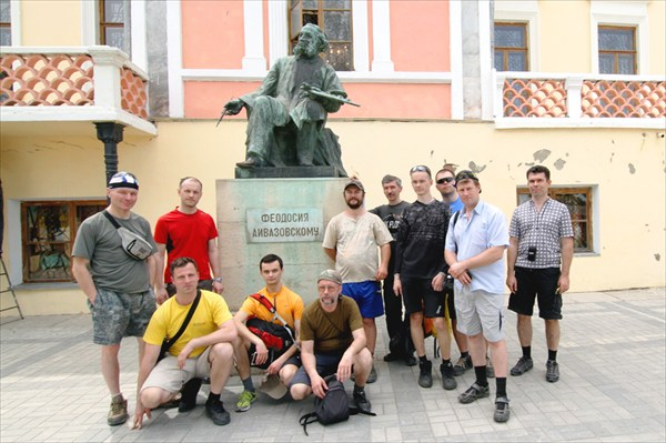 Окло музея Айвазовского