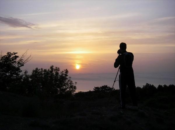 Восход в Феодосии