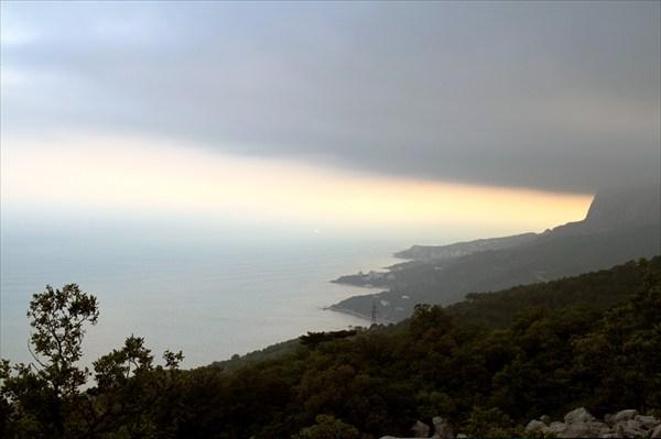 Вид от Беш-Текне