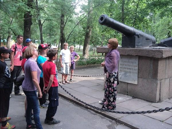 В городском парке Липецка
