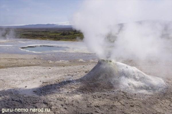 Термальное поле в Hveravellir