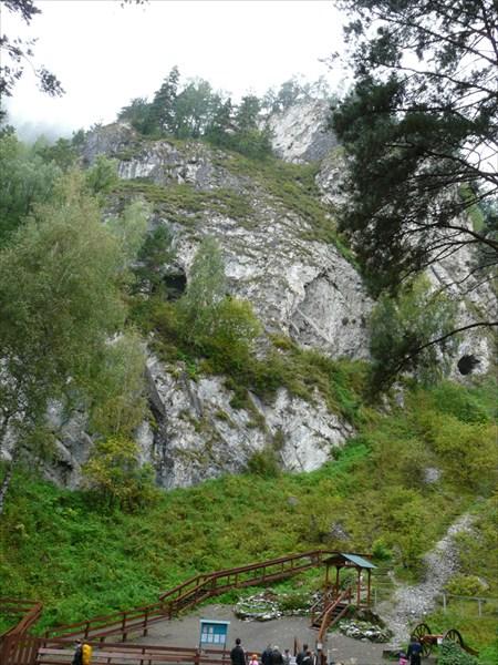 Особая экономическая зона «Бирюзовая Катунь». Вход в пещеру