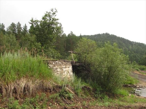 Мост на узкоколейке