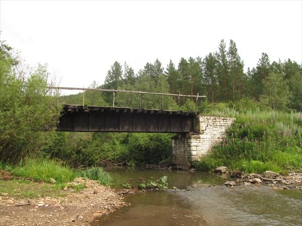 Мост на узкоколейке - он же