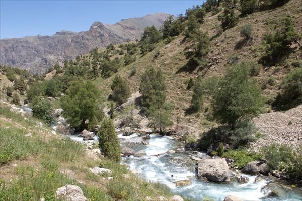 Природный мост через Сарымат