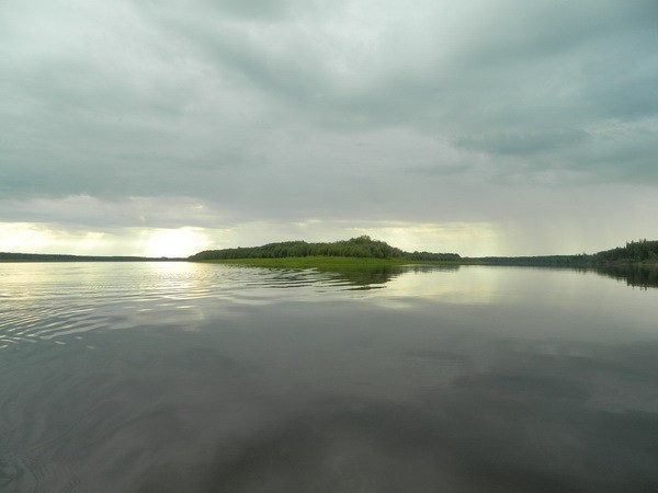 Остров Яныгтумп.