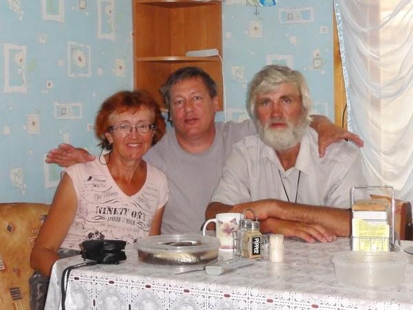 Дома у Юрия Давыдкова.