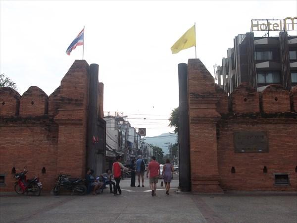 Ворота города Чианг Май