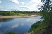 Хороший день, хорошая река, чего ещё надо для счастья...