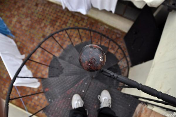 Лестница с крыши