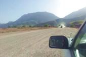 Дорога к кишлаку Кишт