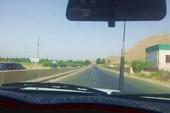 Шоссе из Душанбе в Вахдат